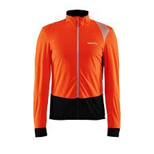 Craft Verve Wind Fietsshirt Lange Mouwen Oranje/Grijs Heren