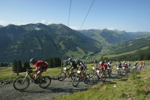 Cycling in Austria - Mountain bikes, take in the view