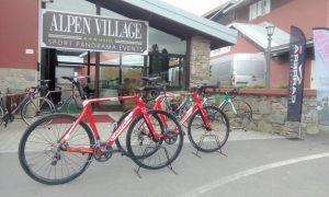 fietsen Alpen Hotel