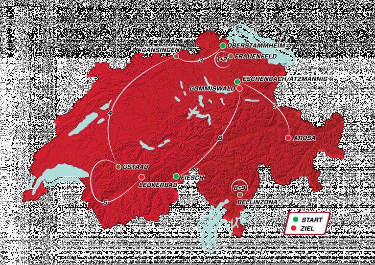 overzicht Ronde van Zwitserland