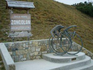Monte Zoncolan Standbeeld
