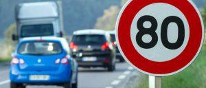 snelheidsbeperking Frankrijk