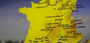 Parcours 2019 Tour
