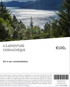 AS Adventure E-Cadocheque