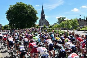 Start TDF in Bretagne