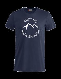 T-Shirt Heren_Dark Navy_fida_transparant